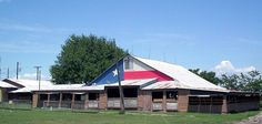 The Swiss Alp Dance Hall, Garten, and Grill is located on US 77 between La Grange and Schulenburg on scenic rolling hills with views for miles.  The historic Hall has provided entertainment and dancing since the early 1900s.