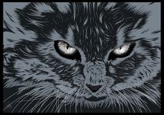 #Vector #Design #Cgv #Cat #pet #illustration