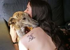 greyhound tattoo