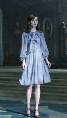 Dark Shadows movie Victoria Winters fashion