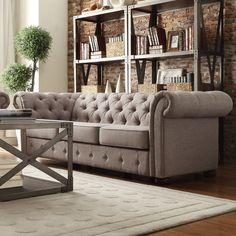 Kingstown Home Carthusia Tufted Sofa | AllModern
