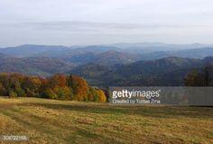 Autumn morning view towards Polan from Velky Sosov hill,... #velkyslavkov: Autumn morning view towards Polan from Velky… #velkyslavkov