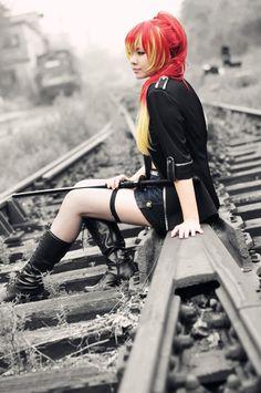ao no exorcist, cosplay, shura kirigakure  http://favim.com/image/260216/#