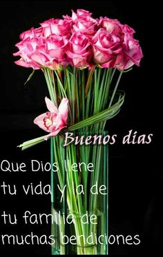 Y la de todos mis amigos...buenos dias!!!♡ God fill your life and your family with many blessings <3