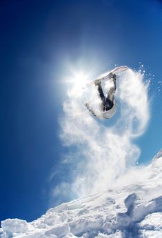 Snowboarding! (I can't do this particular trick...)