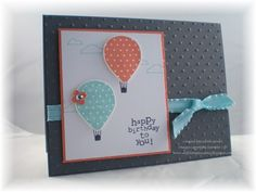 Up, Up & Away Birthday by pdncurrier - Cards and Paper Crafts at Splitcoaststampers
