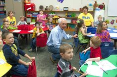 Morgan, Magoffin schools reopen in temporary locations after tornado with a visit from the Governor!