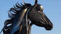 John Lopez Metal Sculptures