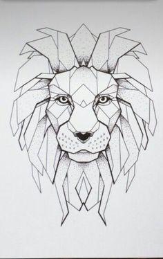 Geometric lion                                                                                                                                                     Más