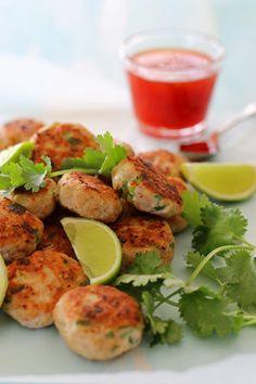 Gluten Free Thai Chicken Patties super healthy and tasty too. ~ www.theluminouskitchen.com