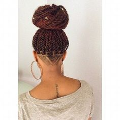 marley twists with an #undercut