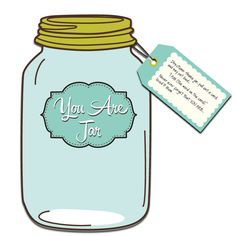 The YOU ARE Jar of Positive Affirmations is a fast and easy DIY project you can do for your children, friends, and family. #DIY #kids #positive #affirmations