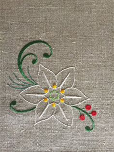 Linen Placemats Set of 6 Embroidered Placemats Gift Table Diy Embroidery Designs, Floral Embroidery Patterns, Embroidery Works, Creative Embroidery, Crewel Embroidery, Vintage Embroidery, Machine Embroidery, Handkerchief Embroidery, Embroidered Quilts