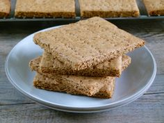 homemade graham crackers -- easier than you think and much better for you than store-bought!