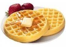 Receita de Massa básica para waffles - 2 xícaras (chá) de farinha de trigo, 1/2 xícara (chá) de açúcar, 3 unidades de ovo, 1 xícara (chá) de leite, 1 colher...