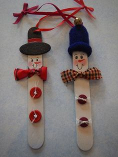 Wooden Crafts 20 Christmas Ornament Popsicle Stick Nutcracker * remajacantik Made with craft sticks and basic craft supplies, this easy wooden popsicle stick nutcracker ornament is a fun holiday keepsake for kids and adults to make. Easy Homemade Christmas Gifts, Popsicle Stick Christmas Crafts, Christmas Crafts For Kids To Make, Easy Christmas Decorations, Popsicle Stick Crafts, How To Make Ornaments, Craft Stick Crafts, Kids Christmas, Handmade Christmas