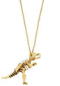 Dinosaur Necklace - little man would want to play with it!