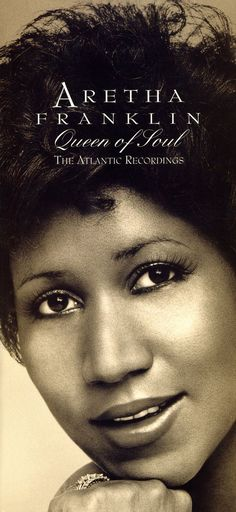 Queen of Soul: The Atlantic Recordings: Features Aretha's greatest Atlantic singles and classic album tracks. Described as \the first definitive history of the queen of soul's golden decade Music Icon, Soul Music, My Music, Indie Music, Music Lyrics, Blues Rock, American Singers, American History, Divas Pop