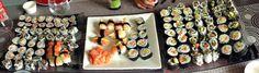 Sushi réalisés maison
