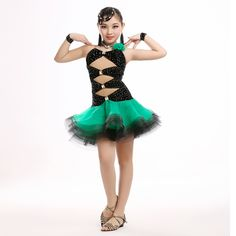 9f7d6a335a1 Aliexpress.com   Buy 2016 Top quality girls professional Latin dance costume