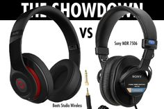 Sony MDR 7506 vs. Beats | DIFFERENT USES!