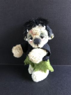 Frakenstein commission x Bears, Teddy Bear, Sweet, Handmade, Animals, Candy, Hand Made, Animales, Animaux