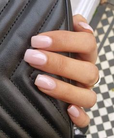 Nagellack Design, Nagellack Trends, Classy Nails, Stylish Nails, Classy Almond Nails, Stars Nails, Milky Nails, Manicure Y Pedicure, Opi Gel Nails