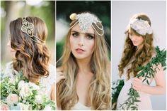 Braut-Frisuren Mit Kopfbedeckungen