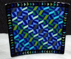 Fused Glass Platter by SummitCreekGlass on Etsy, $140.00