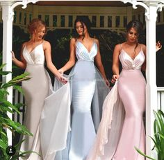 Light Sky Blue Pink Long Wedding Bridesmaid Dresses Mermaid Spaghetti Straps 2016 Cheap Sexy Formal Guest Dresses Evening Gowns Plus Size Bridesmaid Dresses Cheap Evening Gowns Online with 96.6/Piece on Toprated's Store | DHgate.com