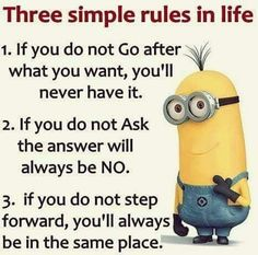 Jacksonville Funny Minions PM, Thursday May 2016 PDT) - 40 pics - Minion Quotes Great Quotes, Me Quotes, Motivational Quotes, Funny Quotes, Inspirational Quotes, Humor Quotes, Minion Jokes, Minions Quotes, Minion Sayings