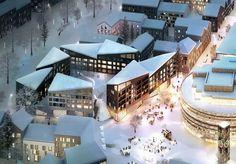 "Kjellander + Sjöberg's Swedish Urban Block to Increase ""Civic Dialogue"""