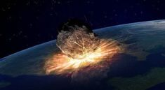 After a meteor punched a huge crater into the Earth million years ago, 70 percent of the planet's species went extinct. Today, pieces of that meteor are found all over the world. Stone Age Houses, Nasa, Wipe Out, Meteor Shower, Our Solar System, Earth Science, Geology, September, Technology