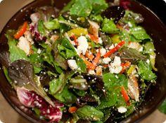 Chopped peperoncini salad