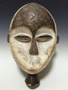$180 etsy African Art  Tribal Art  Kwele Mask From Gabon