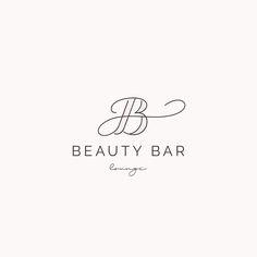 The Design Portfolio of Mel Volkman | Beauty feminine branding, beautiful logo, spa logo, beauty brand, makeup artist logo, logo design, custom branding, custom logo, modern logo, modern branding