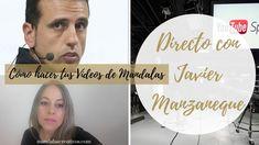 Como hacer Vídeos de Mandalas y Diy con Javier Manzaneque Videos, Movie Posters, Movies, Diy, Mandalas, Artists, How To Make, Films, Bricolage