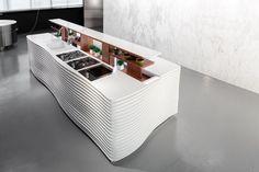 Miton Kitchen Island - Italian Design Beauty ♥