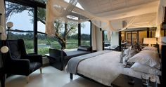 Lion Sands Ivory Lodge is an award winning ultra luxurious lodge and offers safari accommodation in the Sabi Sands Game Reserve near Kruger National Park.