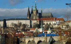Prague-Castle & Charles bridge