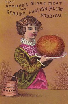 Atmore's Minced Meat and Geuine English Plum Pudding c.1880s