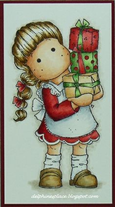 Tilda with Wedding gifts, Wedding Collection, Magnolia stamps