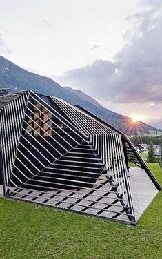 Parametric Architecture Rattles The Italian Alps