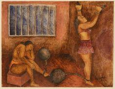 Maria Izquierdo - Mujeres in la carcel.
