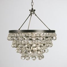 Deco Glam Chandelier... i want to make a cheaper version of this to hide the ugly chandeliers in every place i rent.