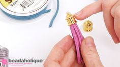 How to Make an Ultra Suede Tassel