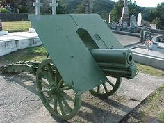 Gebirgskanone Skoda Austria-Hungary WW I Cannon, First World, Hungary, World War, Austria, Weapons, Armour, Guns, Survival