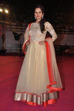 Sania Mirza at Women's Prerna Awards 2013.