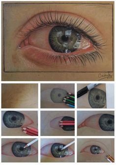 how to draw a real eye :)