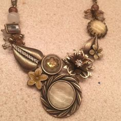 Anthro Necklace Anthro necklace. Never worn. Has an extender. Open to offers. Anthropologie Jewelry Necklaces